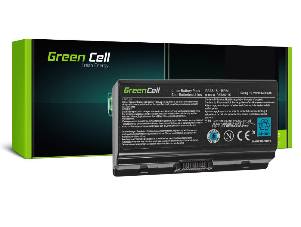 Green Cell akkumulátor Toshiba Satellite L40 L45 L401 L402 PA3591U-1BRS / 11,1V 4400mAh