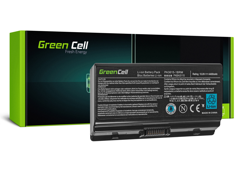 Green Cell TS19 Baterie Toshiba Satellite L40 L45 L401 L402 4400mAh Li-ion - neoriginální