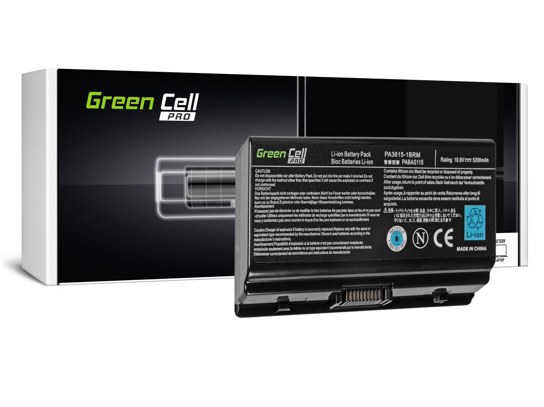 Green Cell PRO Baterie pro Toshiba Satellite L40 L45 L401 L402 PA3591U-1BRS / 11,1V 4400mAh