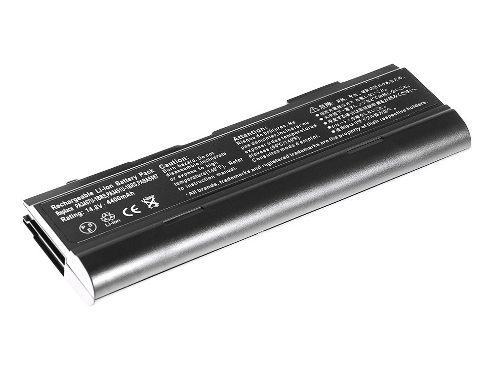 Green Cell Baterie pro Toshiba Satellite A85 A110 A135 M40 M50 M70 / 14,4V 4400mAh