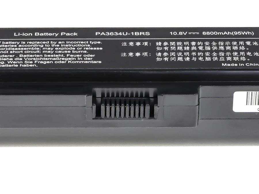 Green Cell Baterie pro Toshiba Satellite C650 C650D C660 C660D L650D L655 L750 PA3817U-1BRS / 11,1V 8800mAh