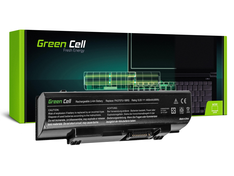 Green Cell PRO Battery for Toshiba Qosmio F60 F750 F755 PA3757U-1BRS / 11,1V 4400mAh