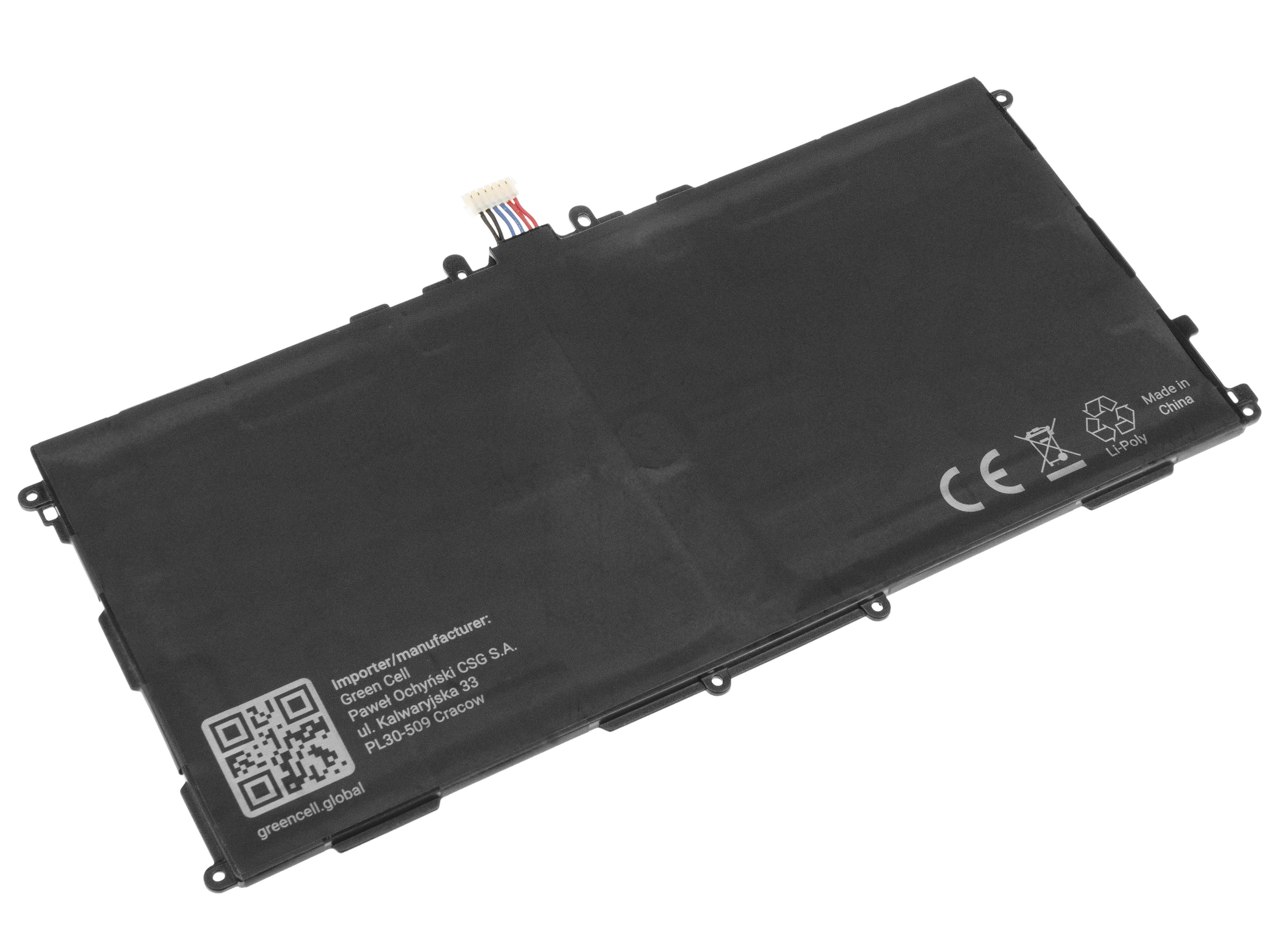 Green Cell TAB22 Baterie Samsung T8220E pro Samsung Galaxy Note 10.1 SM-P600 SM-P601 SM-P605 6600mAh Li-Pol – neoriginální