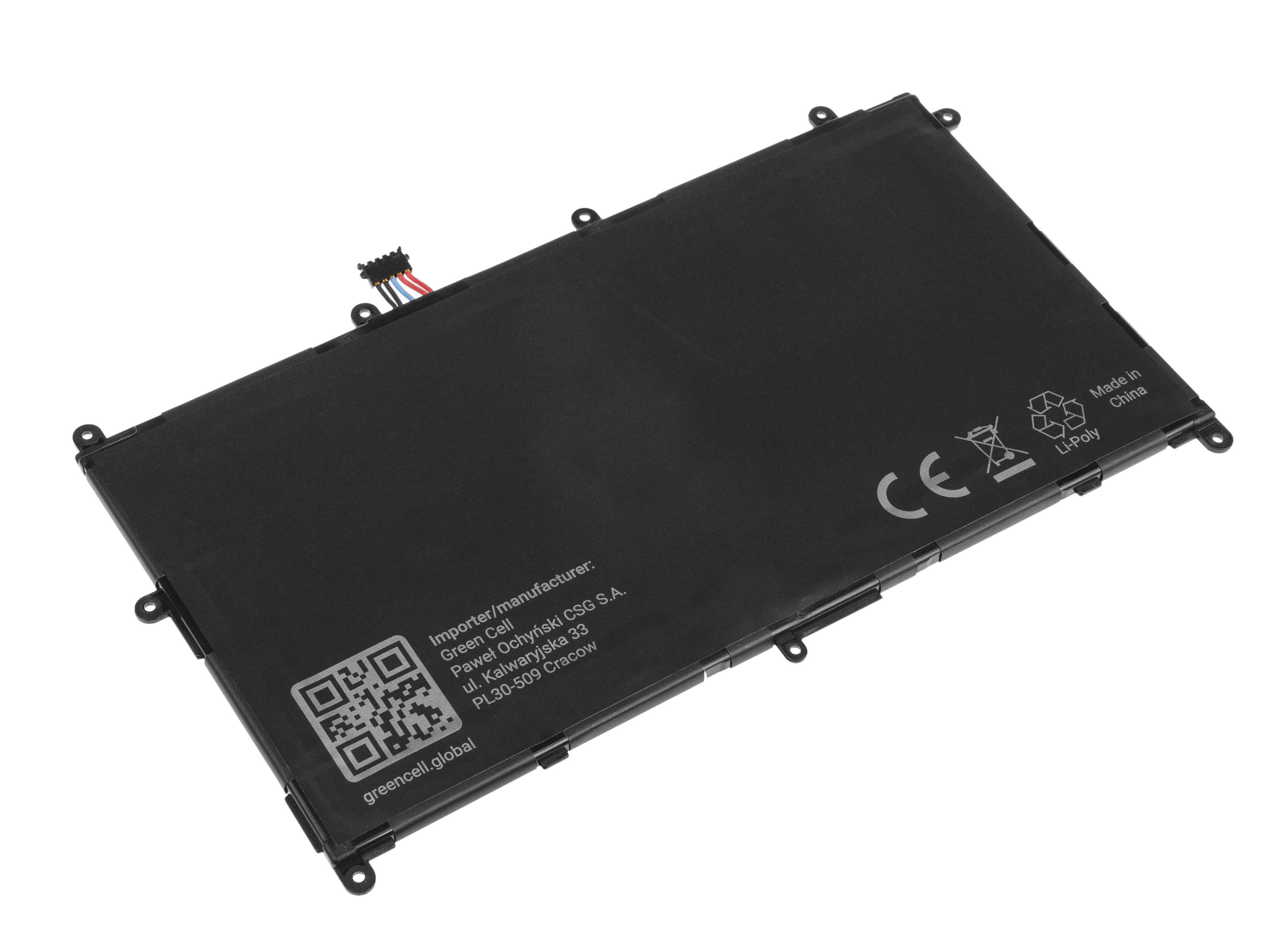 Green Cell TAB26 Baterie Samsung SP368487A(1S2P) pro Samsung Galaxy Tab 8.9 P7300 P7310 P7320 6100mAh Li-Pol – neoriginální