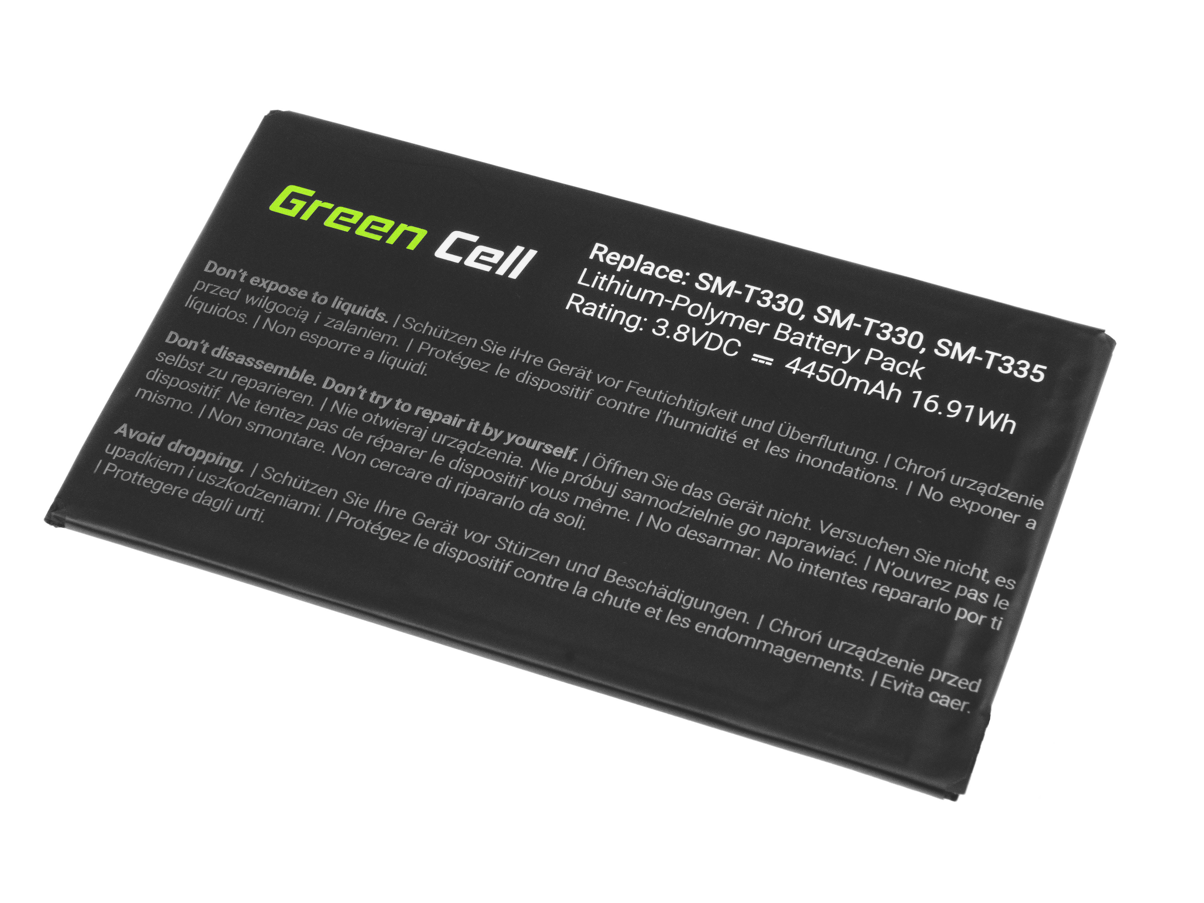 Green Cell Tablet Baterie EB-BT330FBE Samsung Galaxy Tab 4 8.0 T330 T331 T335