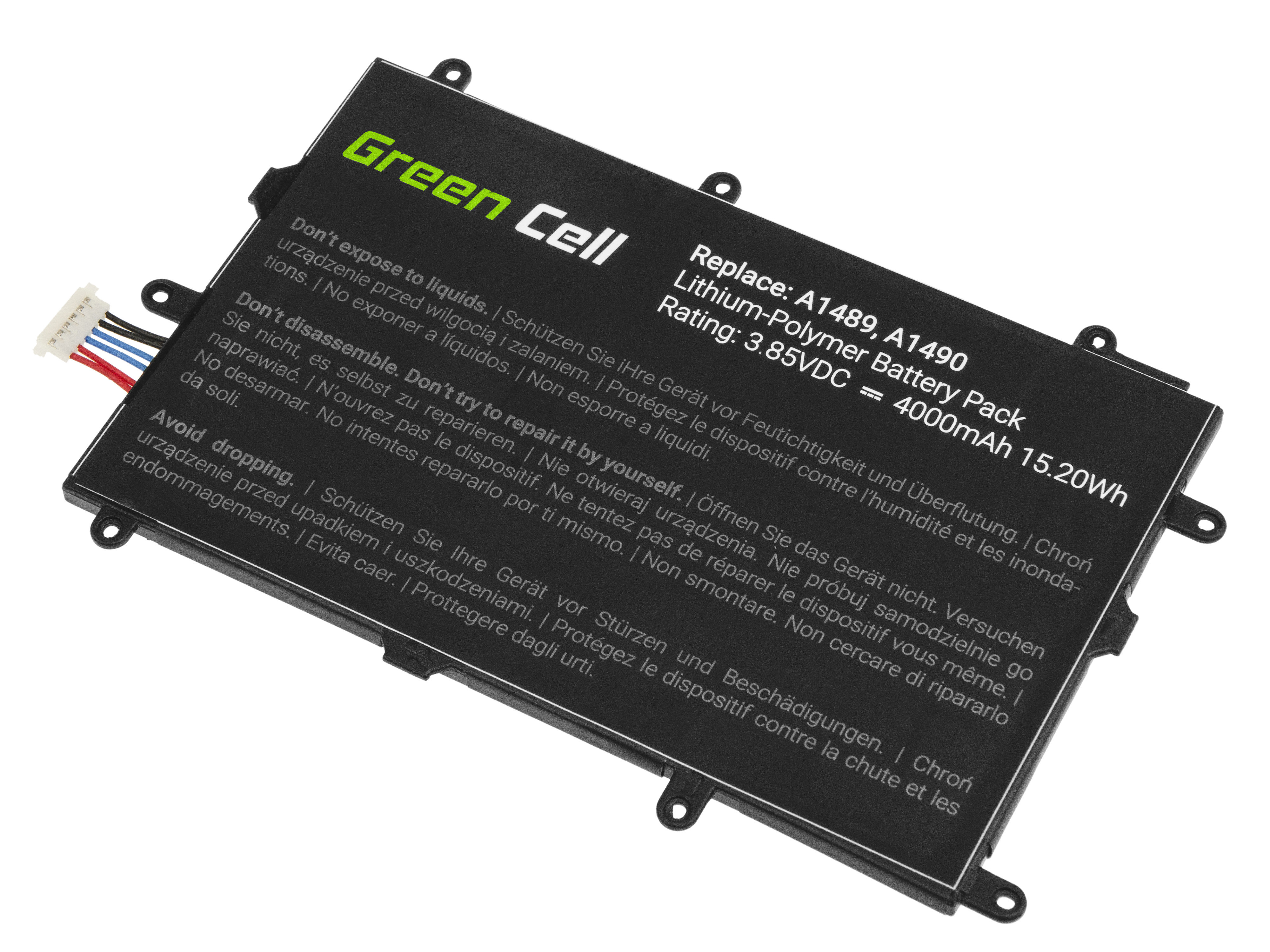 Green Cell Tablet Battery SP4073B3H Samsung Galaxy Tab