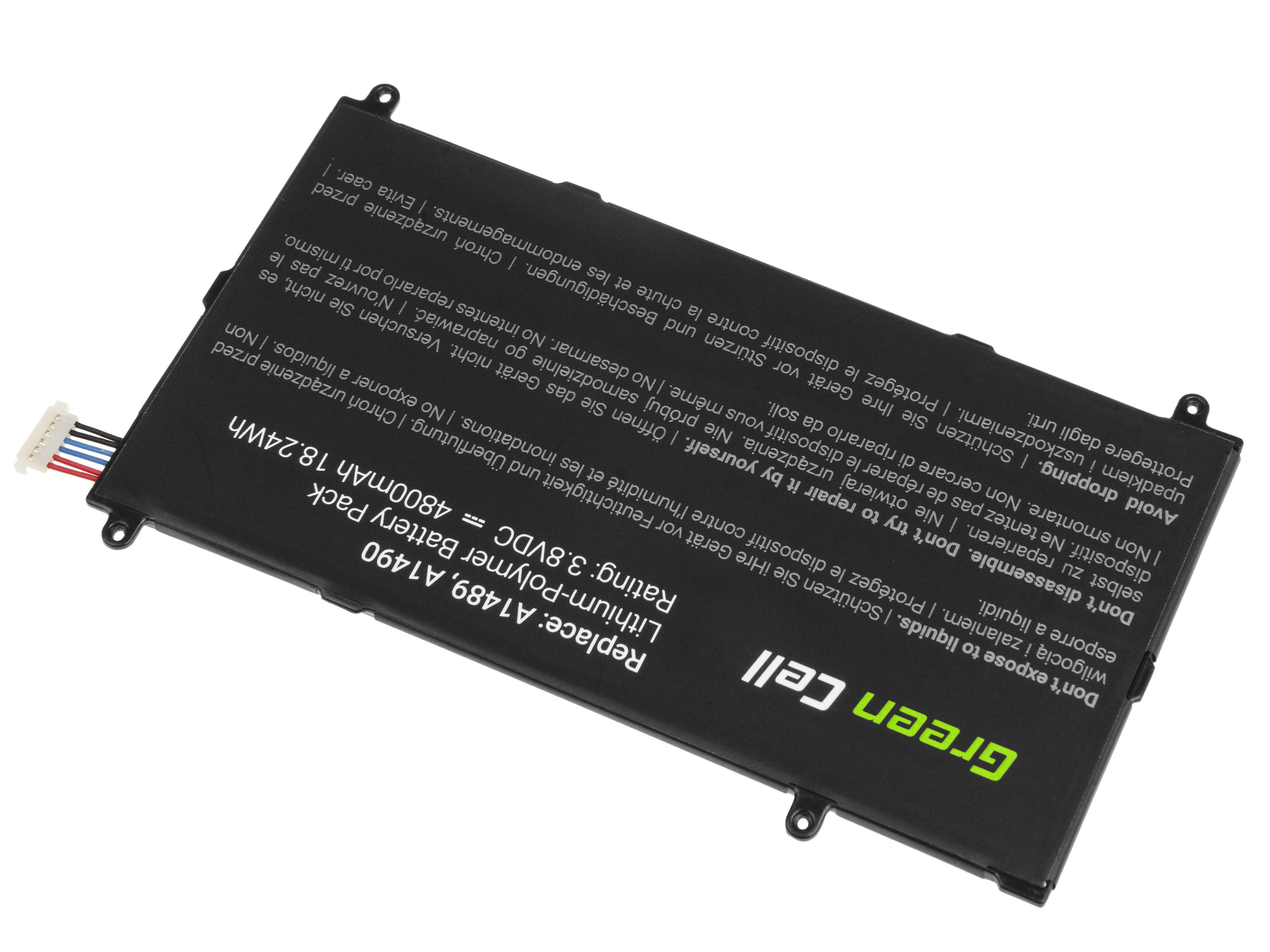 Green Cell TAB34 Baterie Samsung T4800E pro Samsung Galaxy TabPRO 8.4 T320 T321 T325 4800mAh Li-Pol – neoriginální