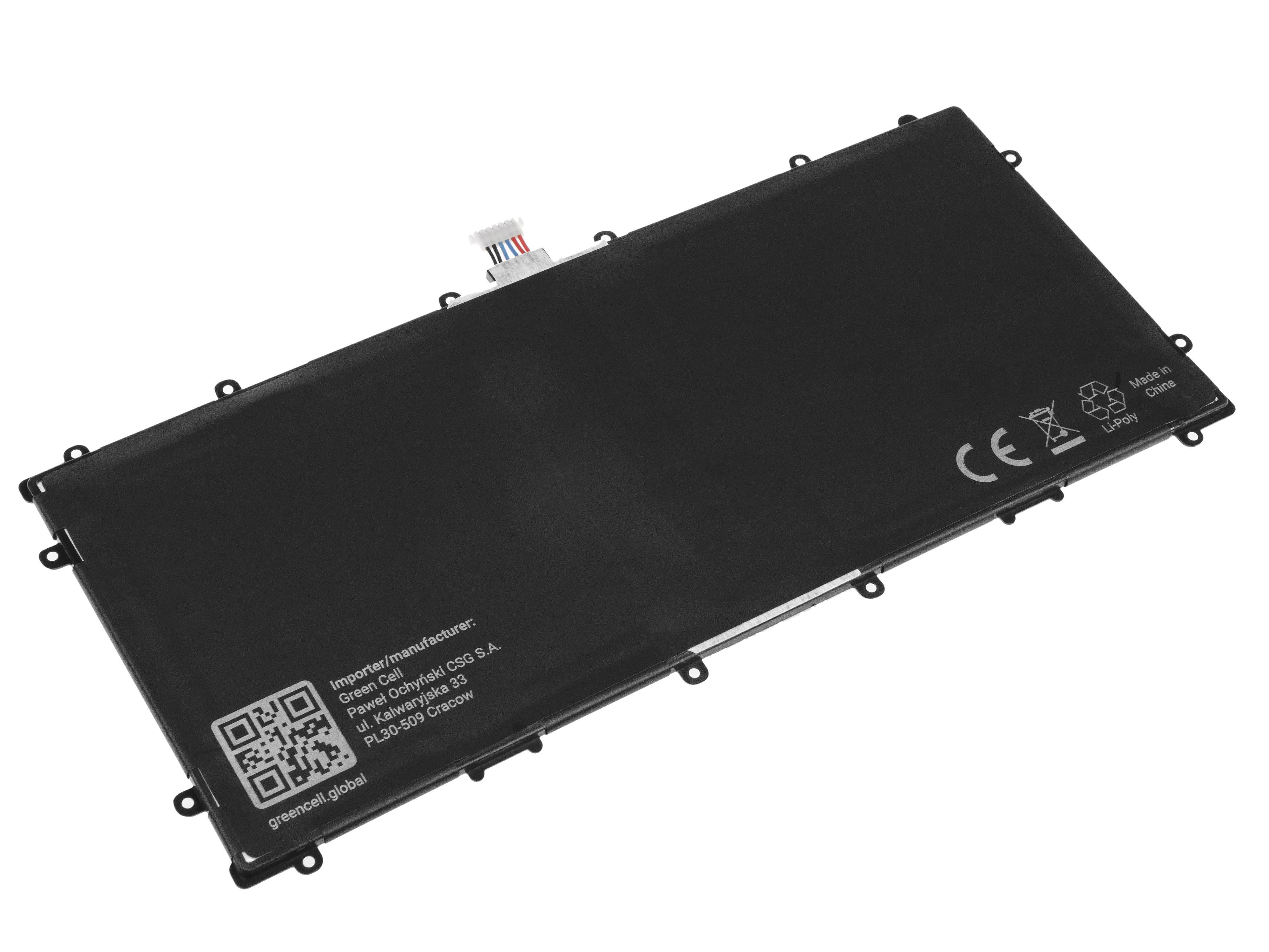 Green Cell TAB41 Baterie Samsung SP3496A8H(1S2P) pro Samsung Google Nexus 10 P8110 8000mAh Li-Pol – neoriginální
