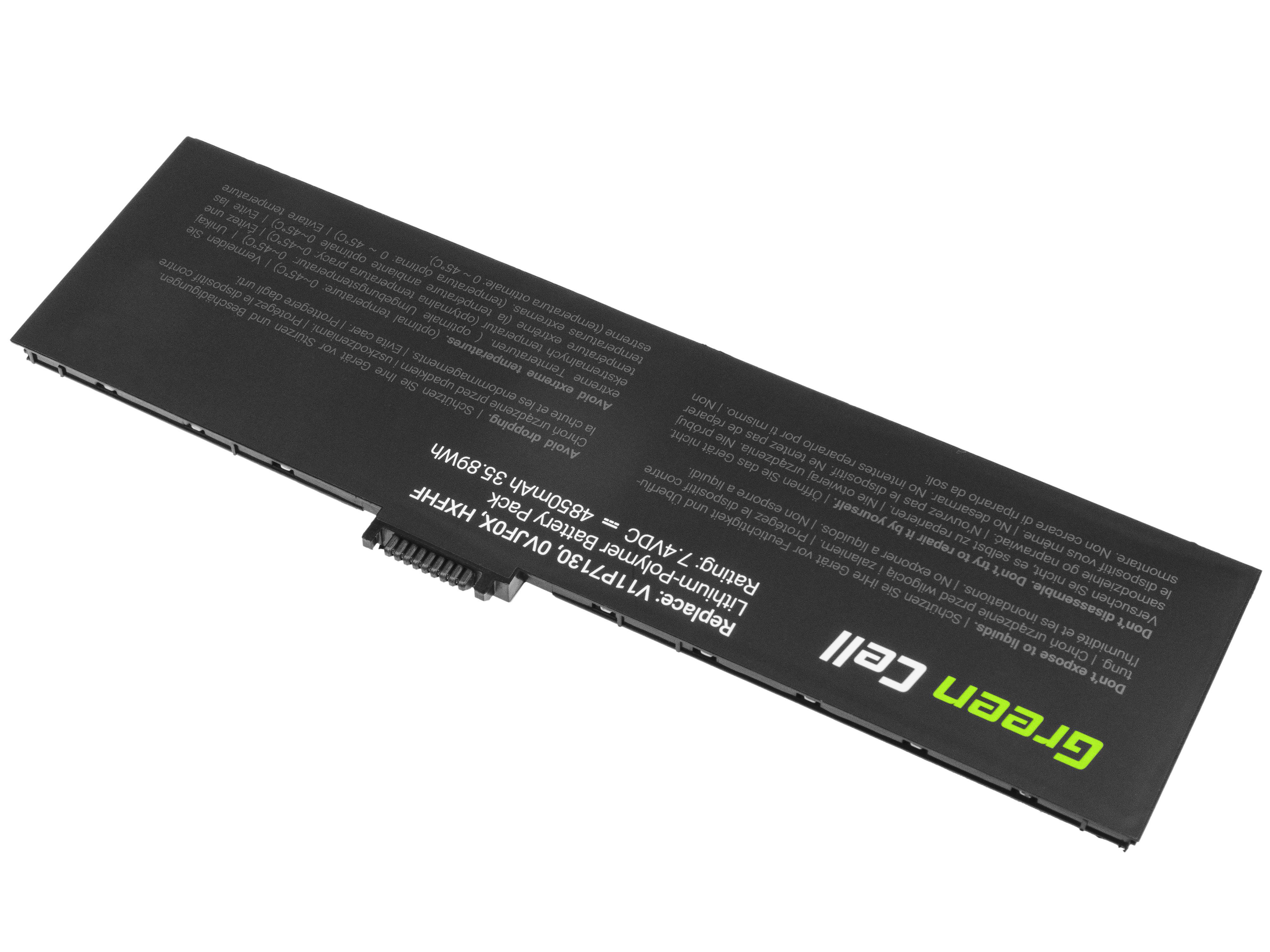 Green Cell TAB45 Baterie Dell HXFHF pro Dell Venue 11 Pro 7000 7130 7139 4850mAh Li-Pol – neoriginální