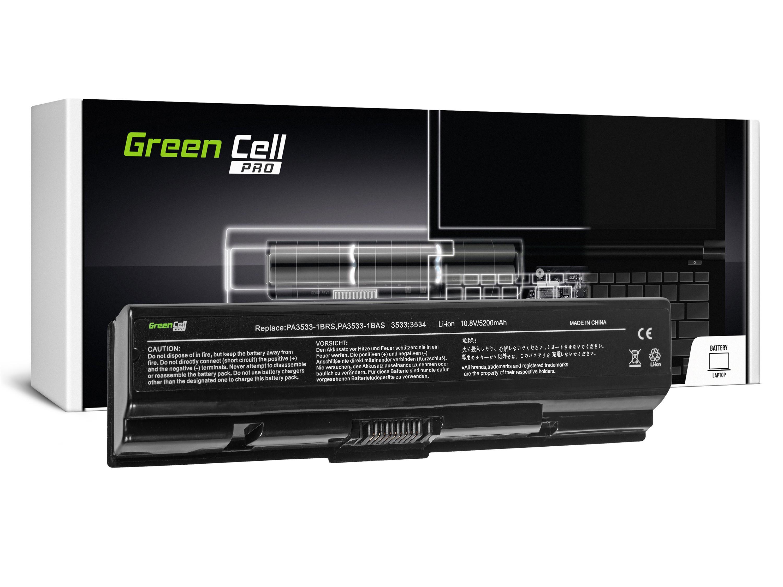 Green Cell TS01PRO Baterie Toshiba Satellite A200 A300 A500 L200 L300 L500 5200mAh Li-ion - neoriginální