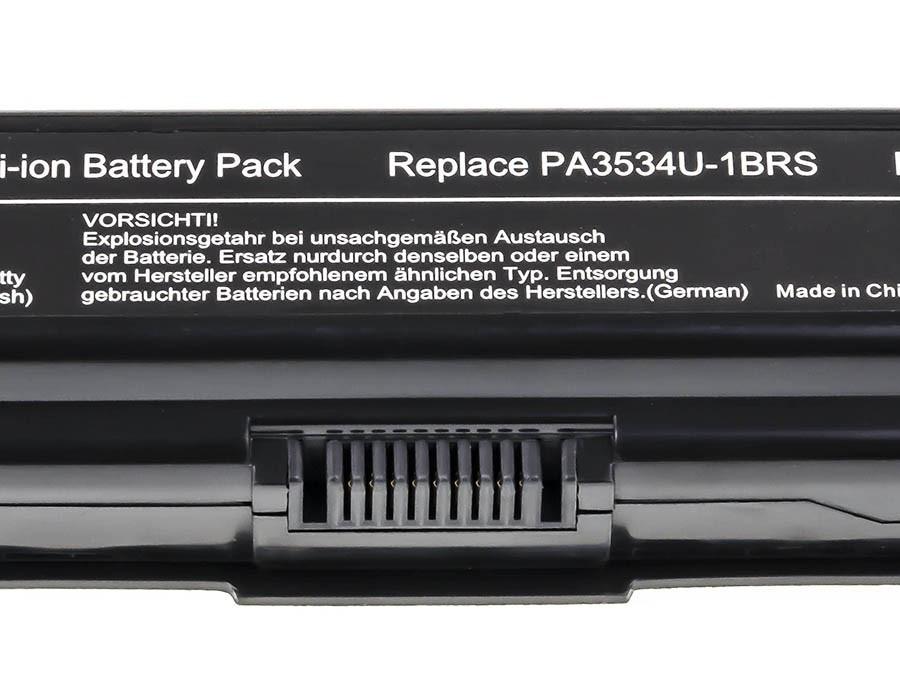 Green Cell Baterie pro Toshiba Satellite A200 A300 A500 L200 L300 L500 / 11,1V 6600mAh