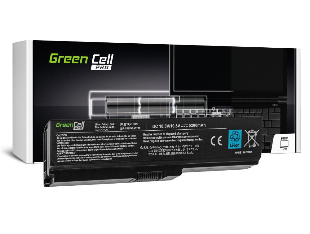 Green Cell PRO akku Toshiba Satellite C650 C650D C660 C660D L650D L655 L750 PA3817U-1BRS / 11,1V 5200mAh