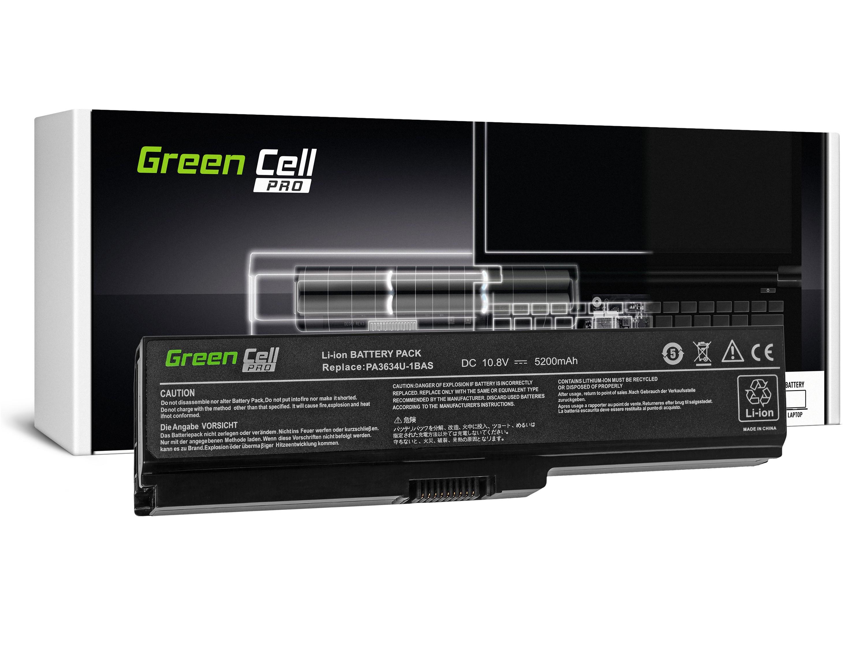 Green Cell TS03PROV2 Baterie Toshiba Satellite A660 C650 C660 C660D L650 L650D L655 L670 L670D L675 5200mAh Li-ion - neoriginální