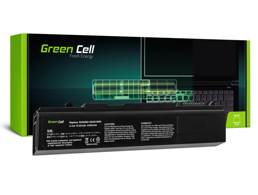 Green Cell akkumulátor a Toshiba Tecra A2 A9 A10 S3 S5 M10 Portage M300 M500 / 11,1V 4400mAh