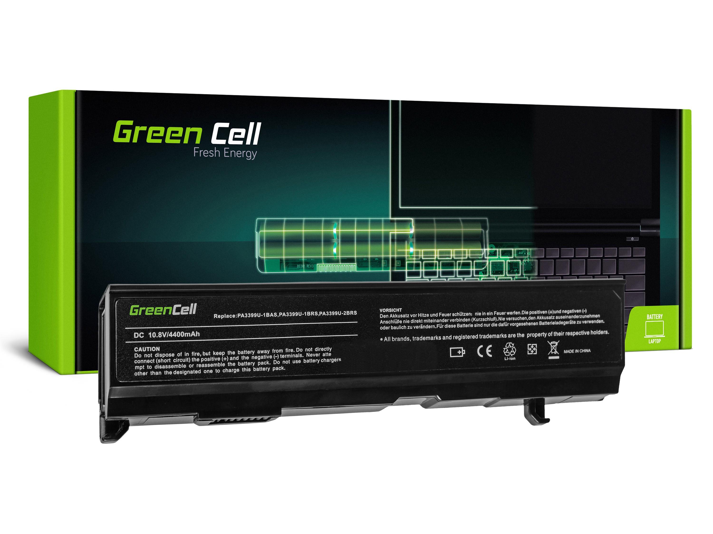 Green Cell Baterie pro Toshiba Satellite A80 A100 A105 M40 M50 Tecra A3 A6 / 11,1V 4400mAh