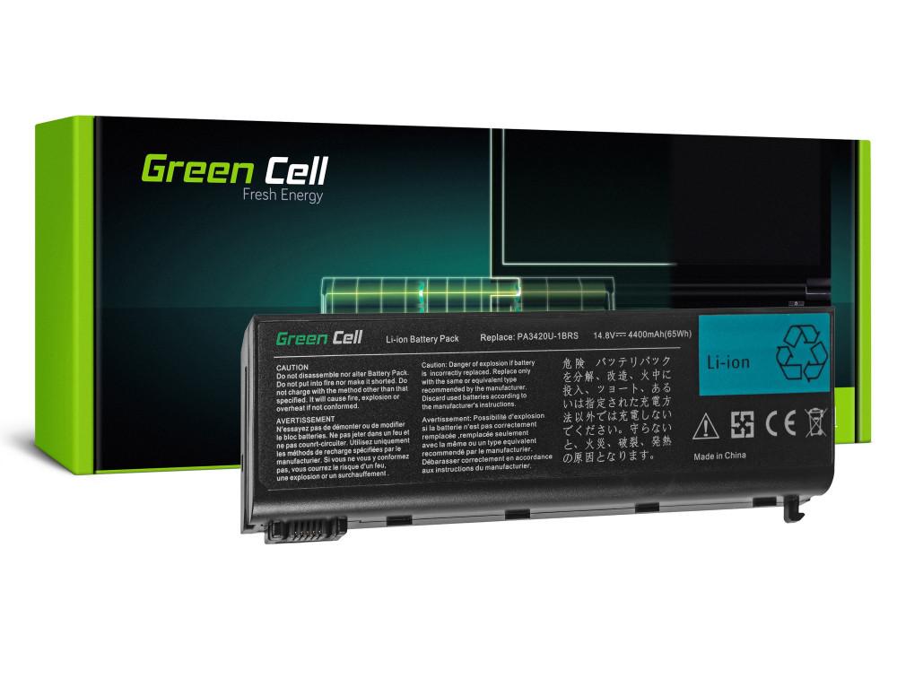 Green Cell akkumulátor Toshiba Satellite L10 L15 L20 L25 L30 L35 L100 / 14,4V 4400mAh