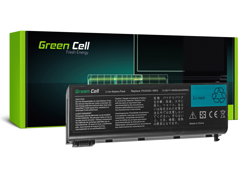 Green Cell Battery for Toshiba Satellite L10 L15 L20 L25 L30 L35 L100 / 14,4V 4400mAh
