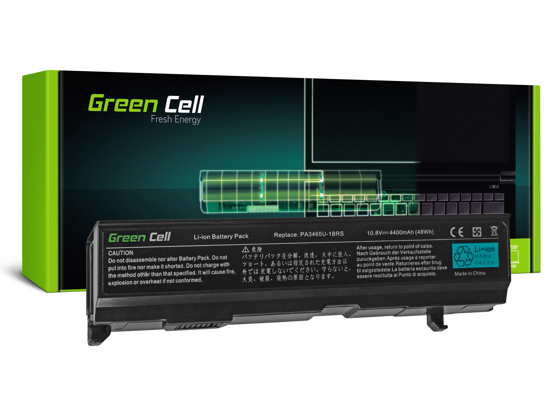 Green Cell TS08 Baterie Toshiba Satellite A85 A110 A135 M40 M50 M70 4400mAh Li-ion - neoriginální