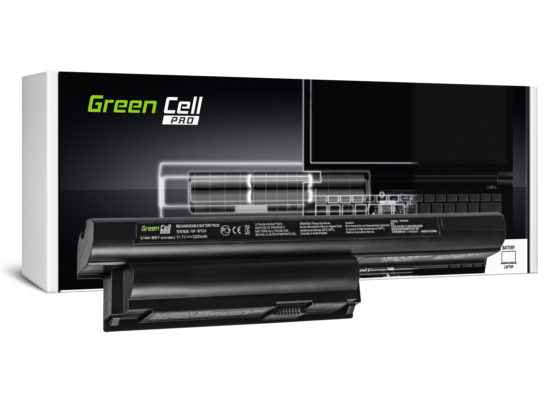 Green Cell SY08PRO Baterie Sony VGP-BPS26 VGP-BPL26 Sony Vaio PCG-71811M PCG-71911M SVE15 5200mAh Li-Ion - neoriginální