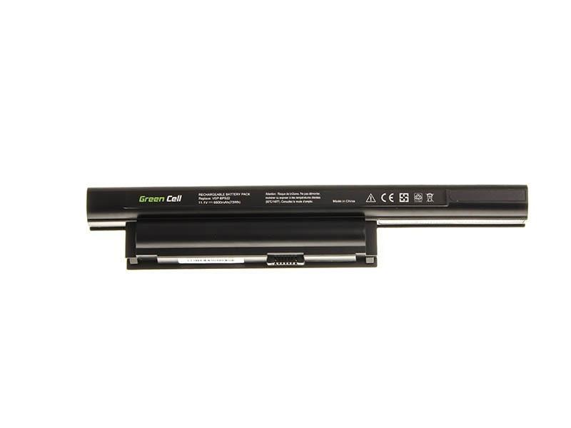 Green Cell SY14 Baterie Sony Vaio VGP-BPS22 VGP-BPS22A VGP-BPL22 BPS22 VPCEA 6600mAh Li-Ion - neoriginální