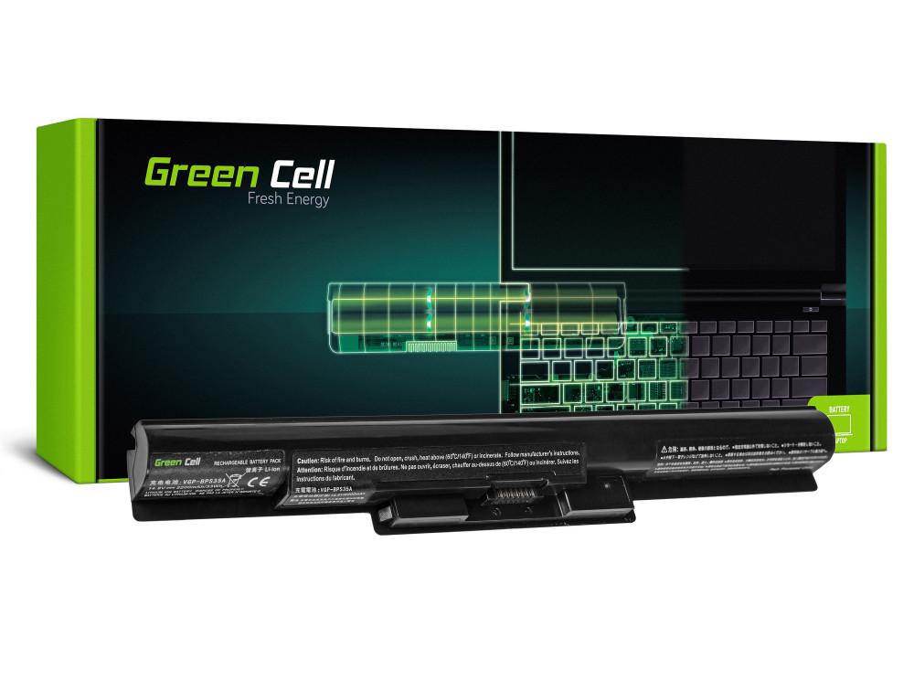 Green Cell akkumulátor Sony Vaio SVF14 SVF15 Fit 14E 15E / 14,4V 2200mAh