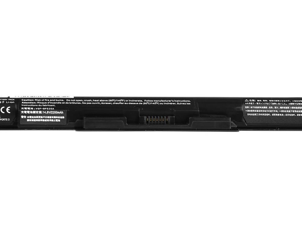 Green Cell Battery for Sony Vaio SVF14 SVF15 Fit 14E 15E / 14,4V 2200mAh