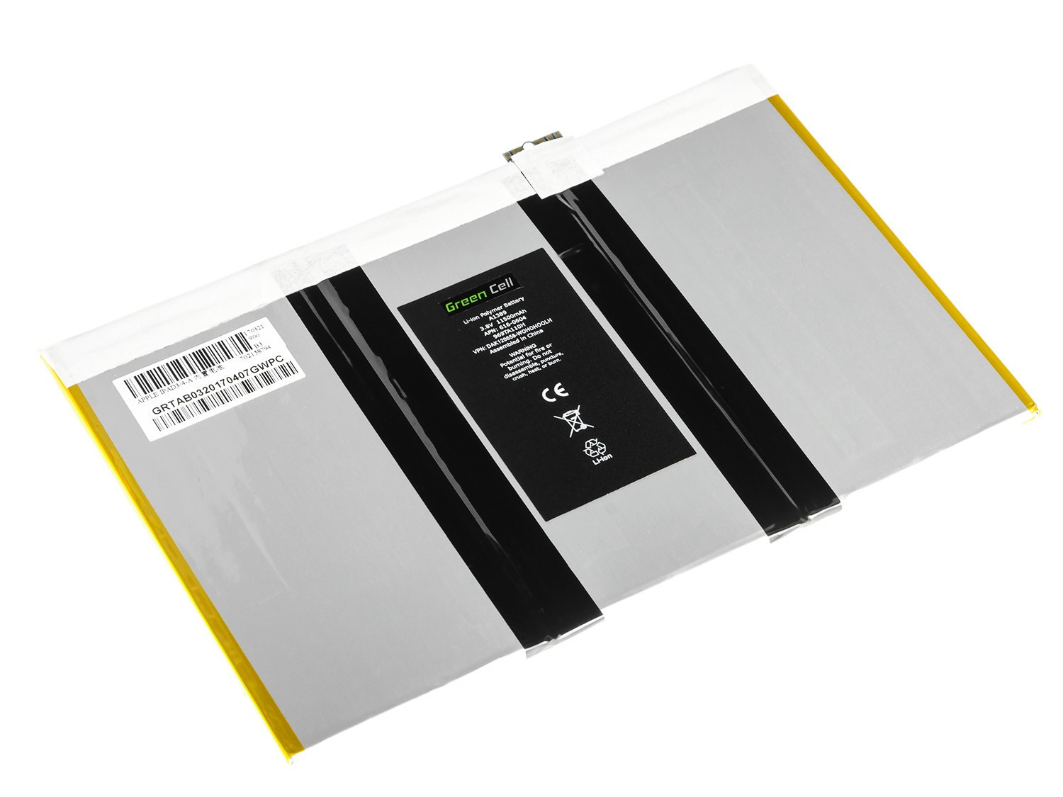 Green Cell Baterie pro Apple iPad 3 A1403 A1416 A1430
