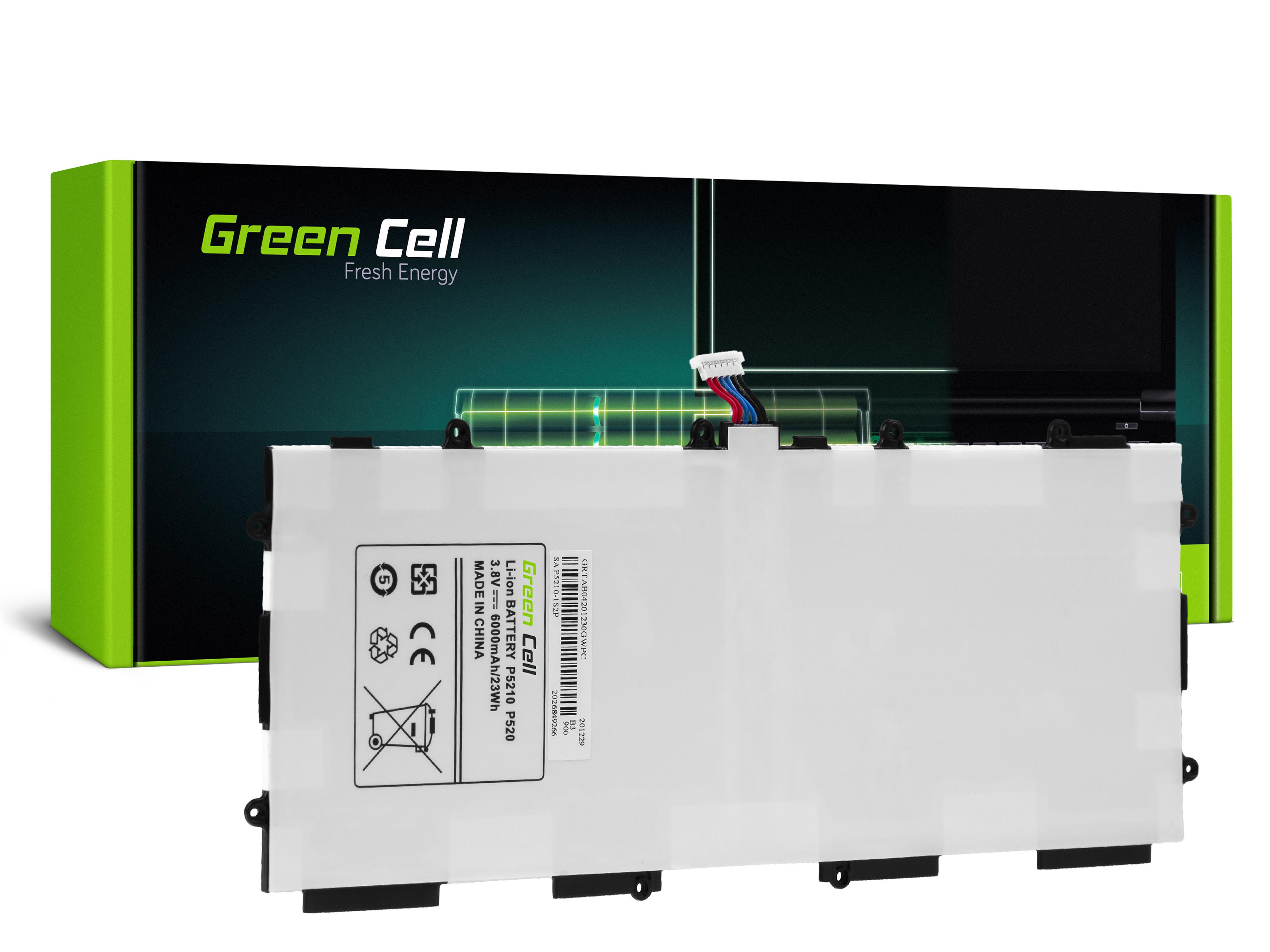 Green Cell TAB04 Baterie Samsung T4500E pro Samsung Galaxy Tab 3 10.1 P5200 P5210 6800mAh Li-ion - neoriginální