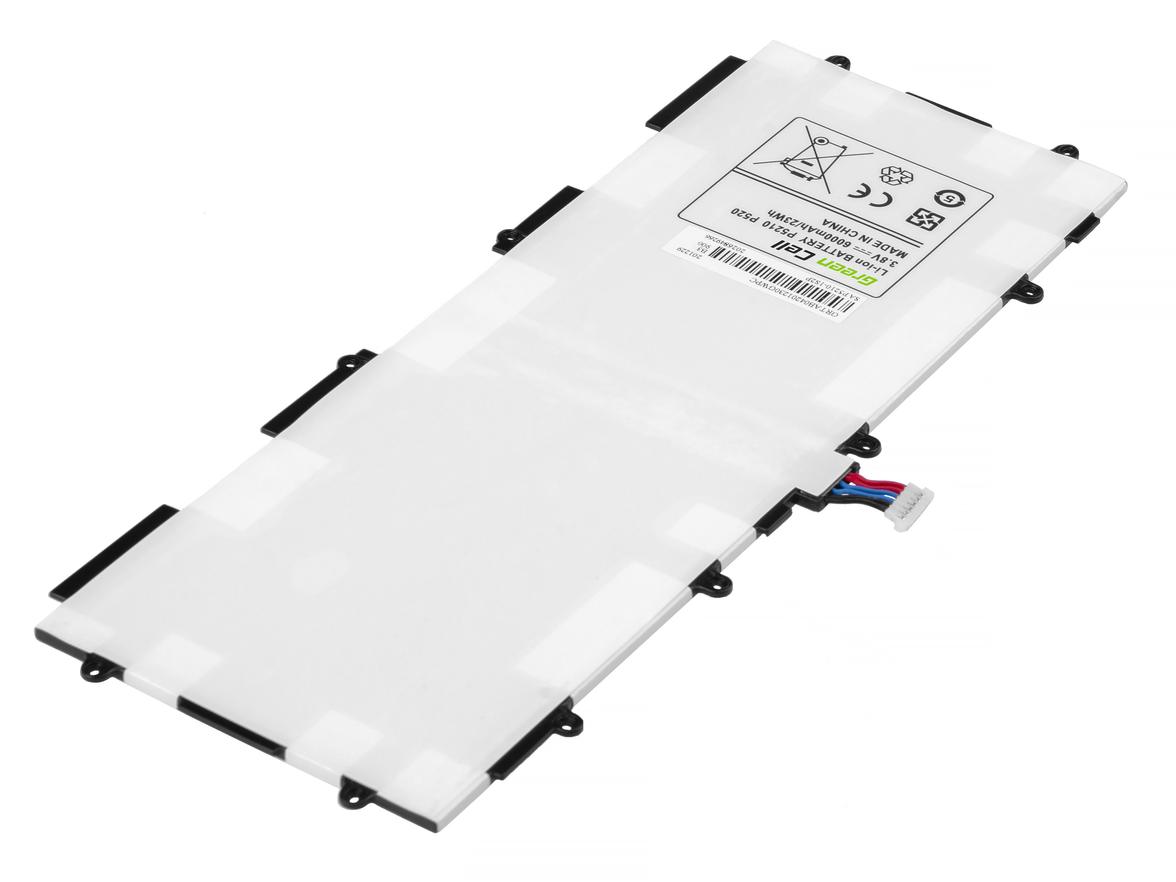 Green Cell Battery for Samsung Galaxy Tab 3 10.1 P5200 P5210
