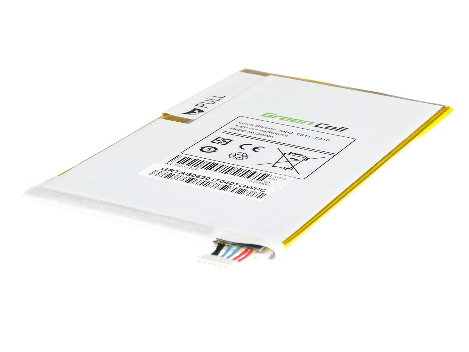 Green Cell Baterie pro Samsung Galaxy Tab 3 8.0 T310 T311