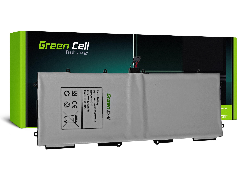 Batterie Green Cell ® SP3676B1A für Samsung Galaxy Tab 10.1 P7500 P7510, Tab 2 10.1 P5100 P5110, Note 10.1 N8000 N8010