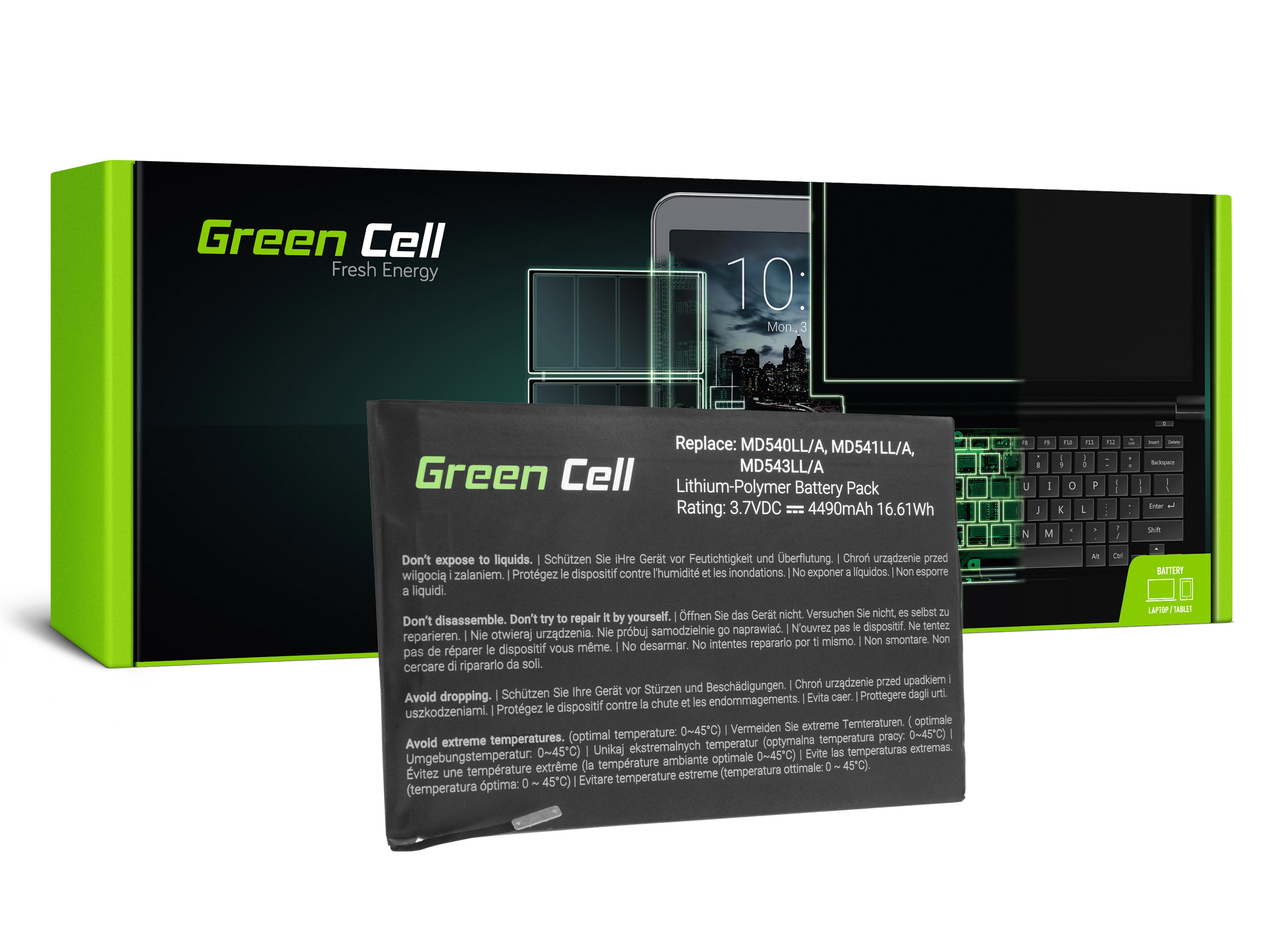 Green Cell Tablet Battery A1445 Apple iPad Mini A1432 A1454 A1455