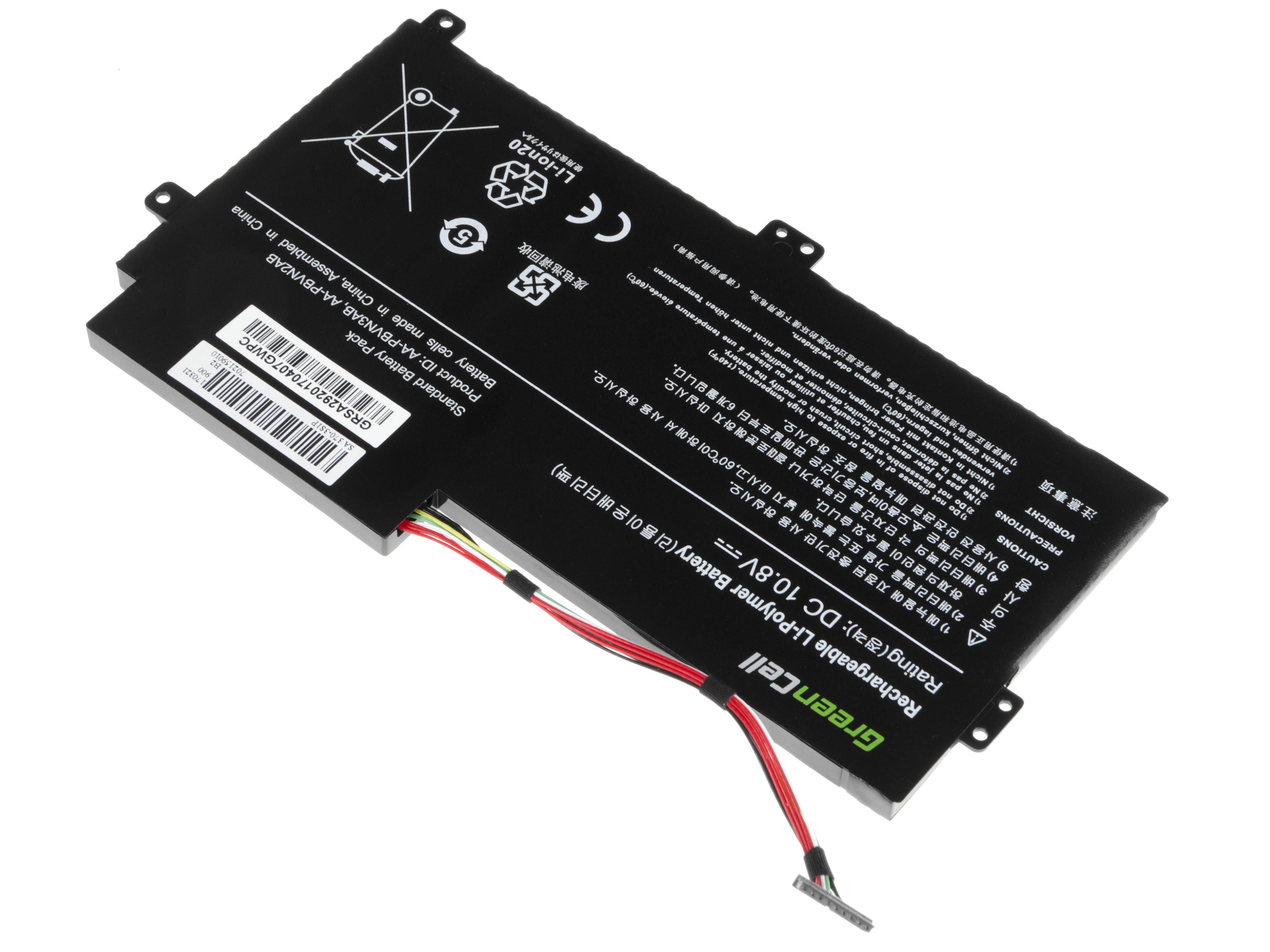 Green Cell Battery for Samsung 370R 370R5E NP370R5E NP450R5E NP470R5E NP510R5E / 11,1V 4000mAh