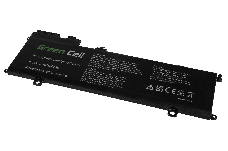 Green Cell SA33 Baterie Samsung AA-PLVN8NP NP770Z5E NP780Z5E NP870Z5E NP870Z5G NP880Z5E 6000mAh Li-Pol - neoriginální