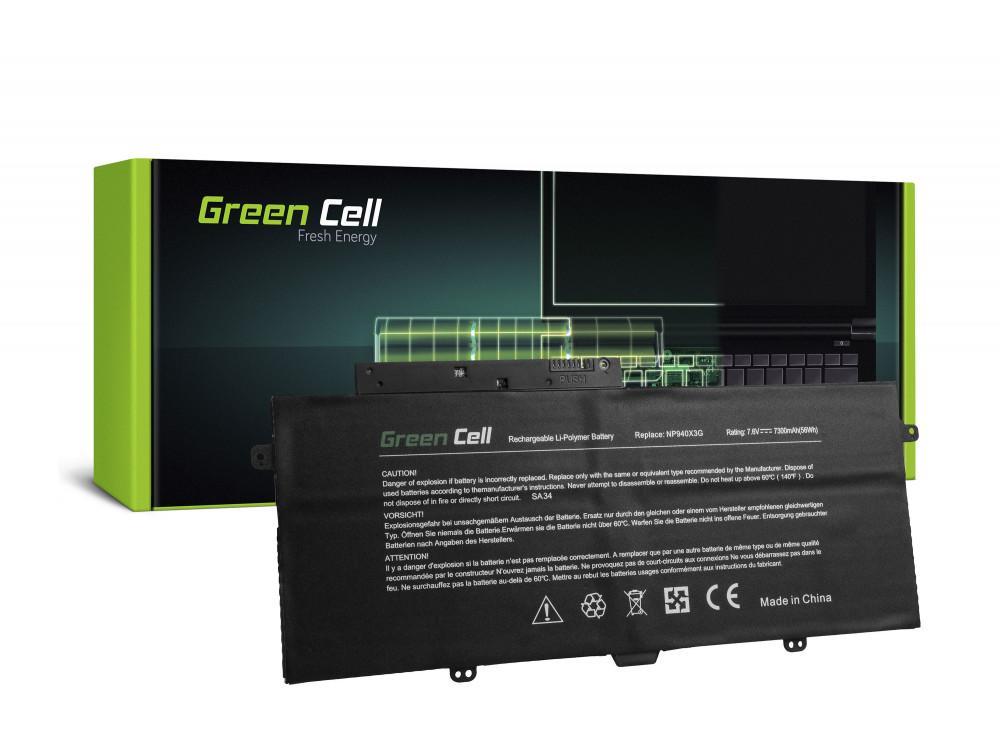 Green Cell akkumulátor Samsung Ativ Book 9 Plus 940X3G NP940X3G / 7,6V 7300mAh