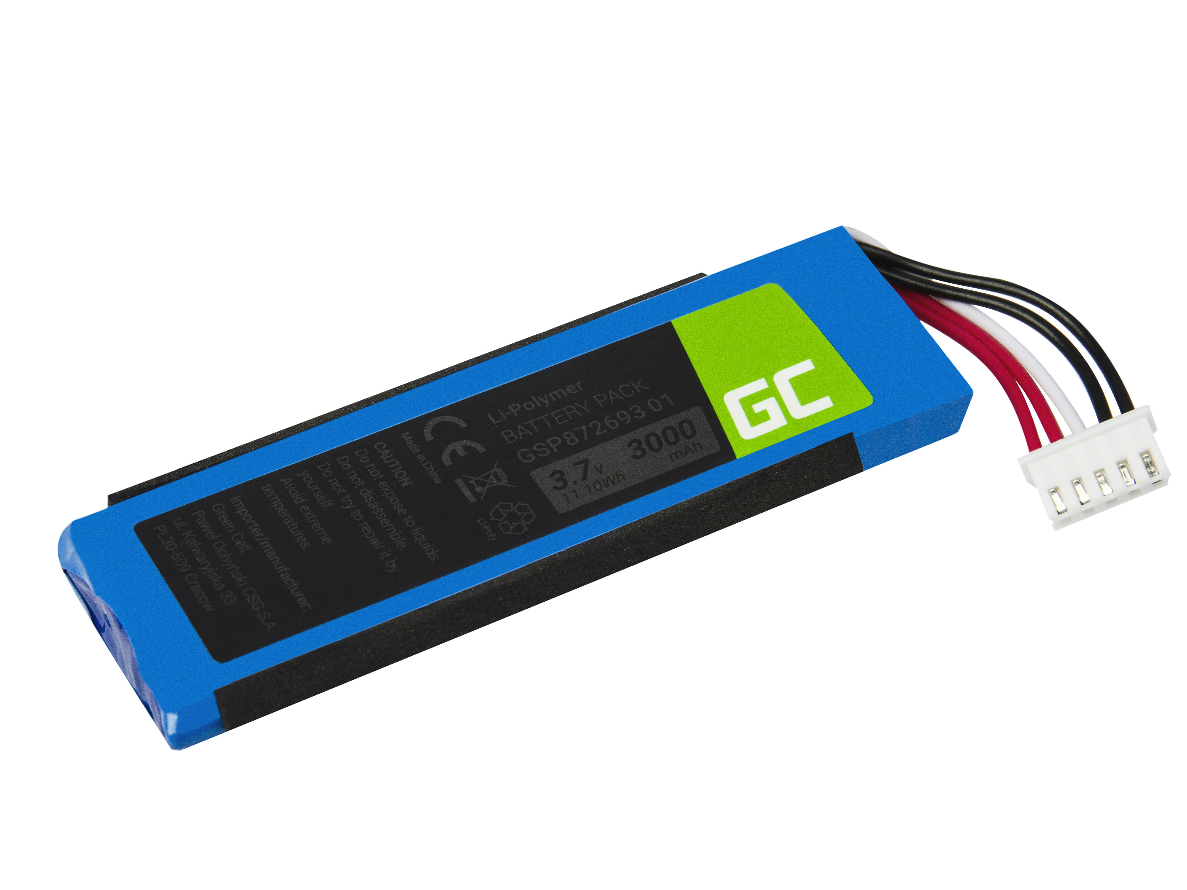 Green Cell Speaker Battery for JBL Flip 4