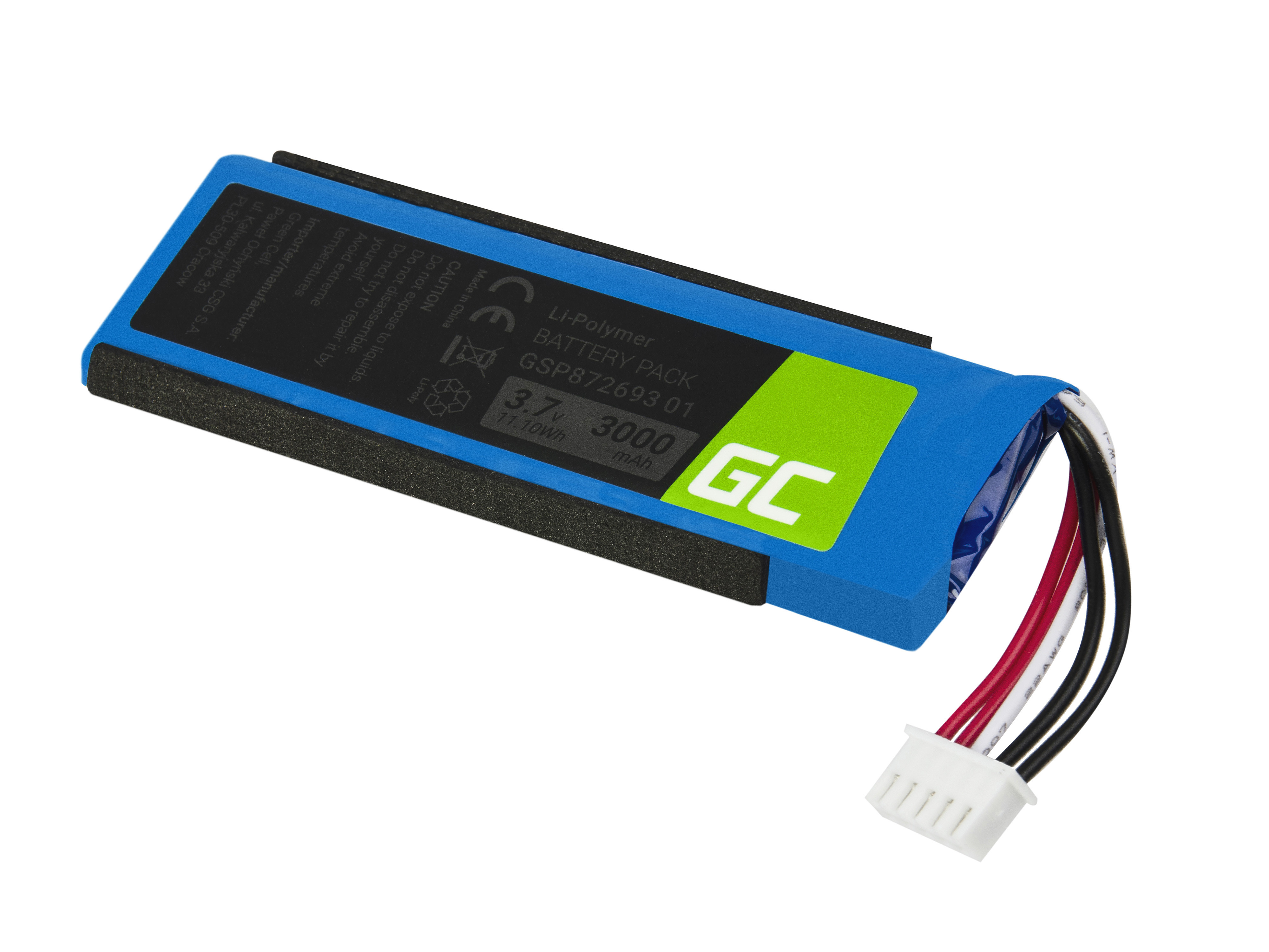Baterie Green Cell Baterie JBL Flip 4 3000mAh Li-Pol – neoriginální
