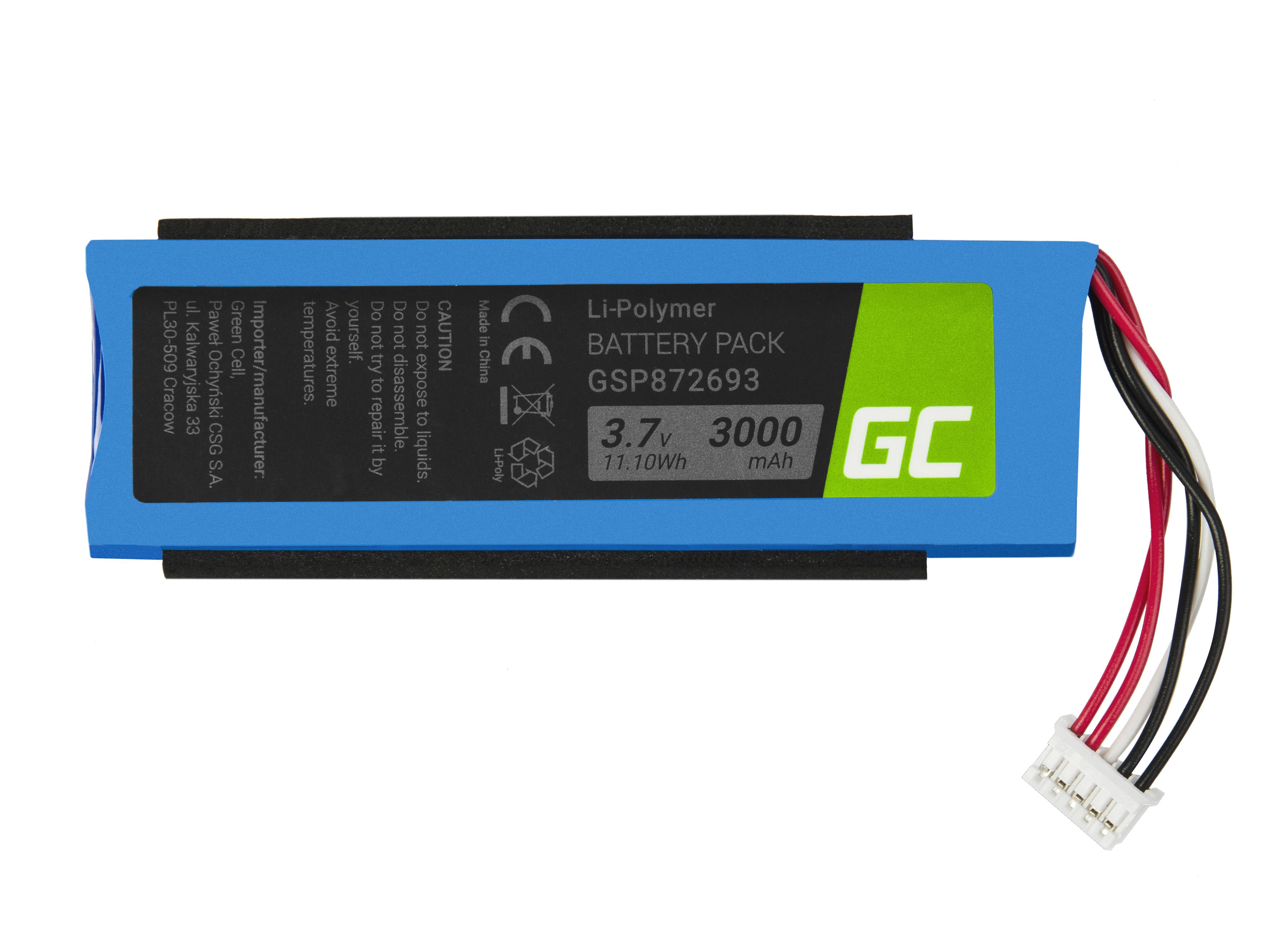 Green Cell Speaker Baterie pro JBL Flip 3