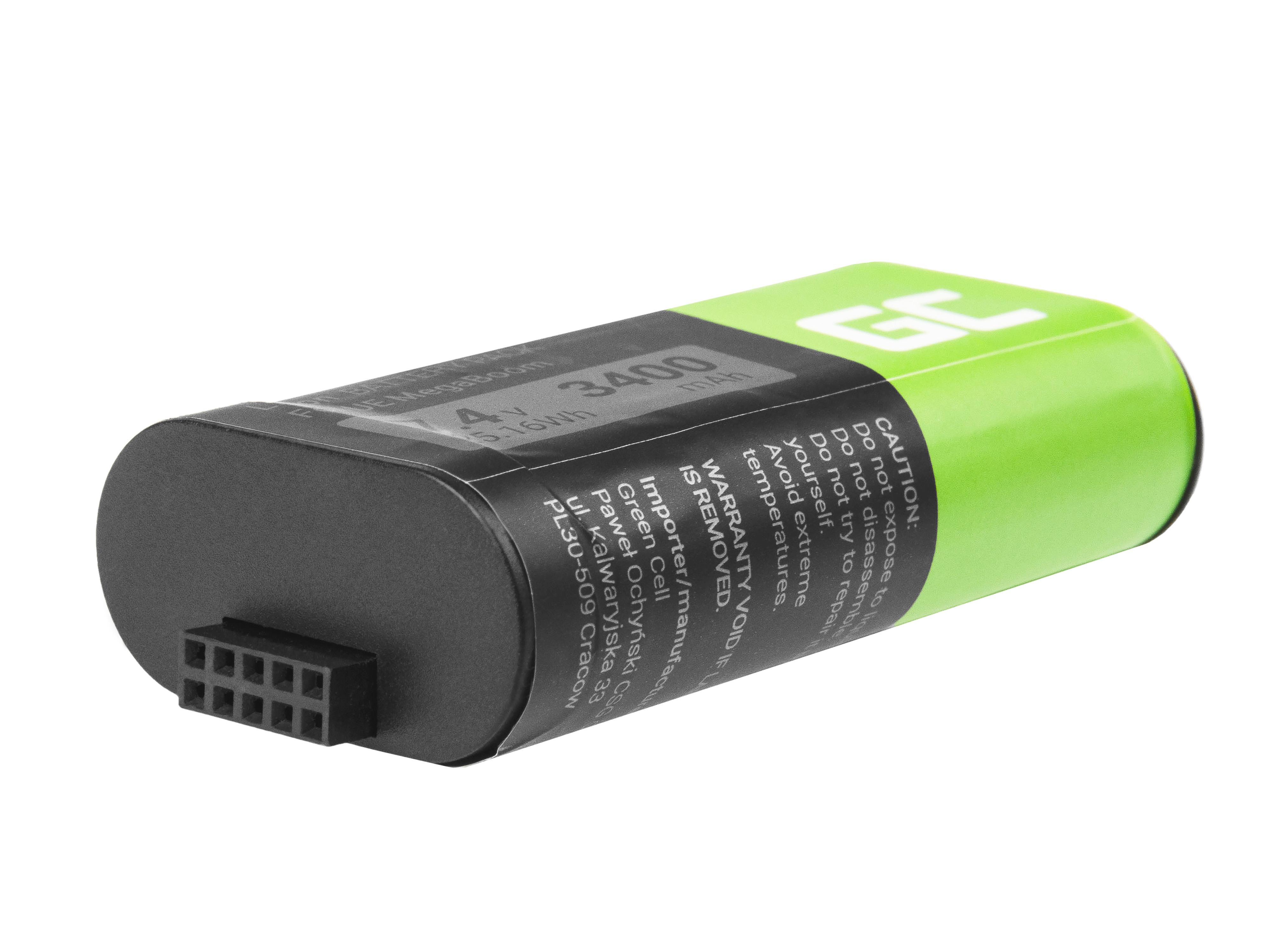 Green Cell SP13 Baterie Logitech 533-000116 533-000138 pro Logitech Ultimate Ears UE MEGABOOM S-00147 3400mAh Li-ion - neoriginální