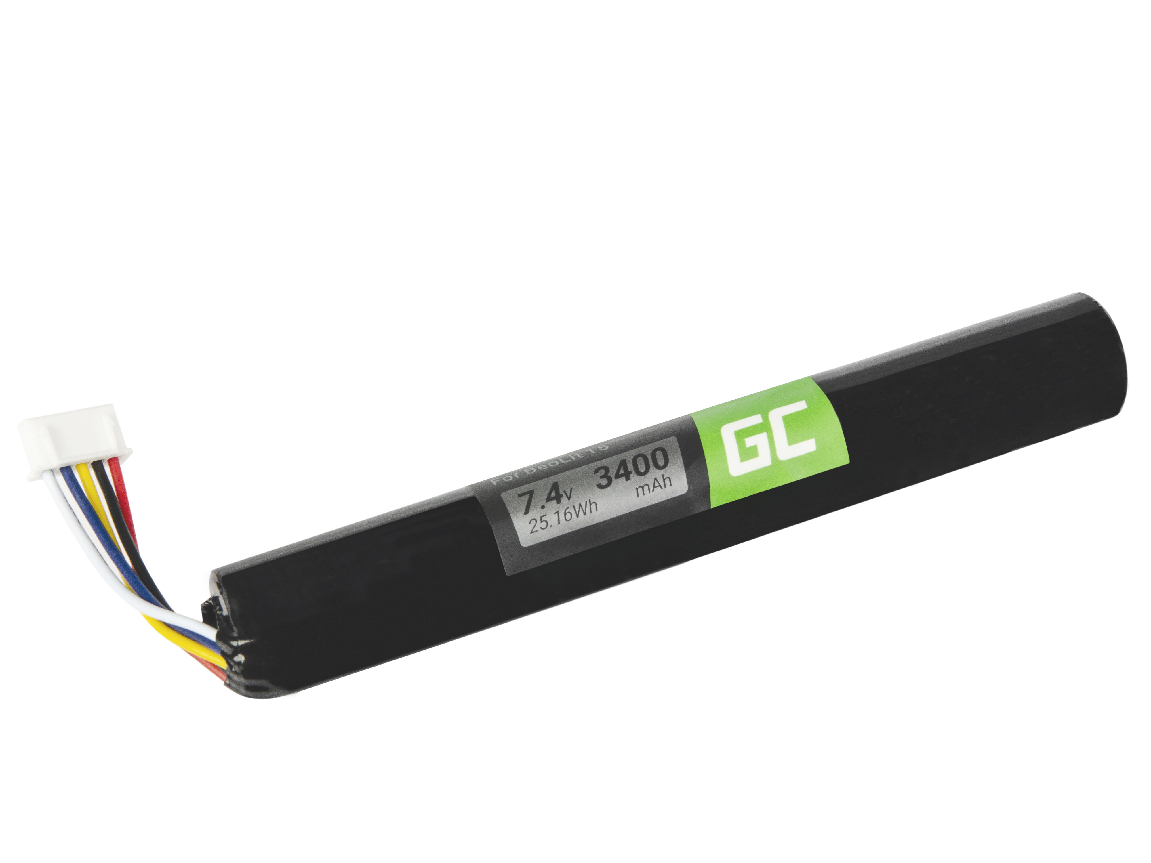 Green Cell Speaker Battery J406/ICR18650NH-2S for Bang & Olufsen BeoLit 15, 17, BeoPlay A2 Active