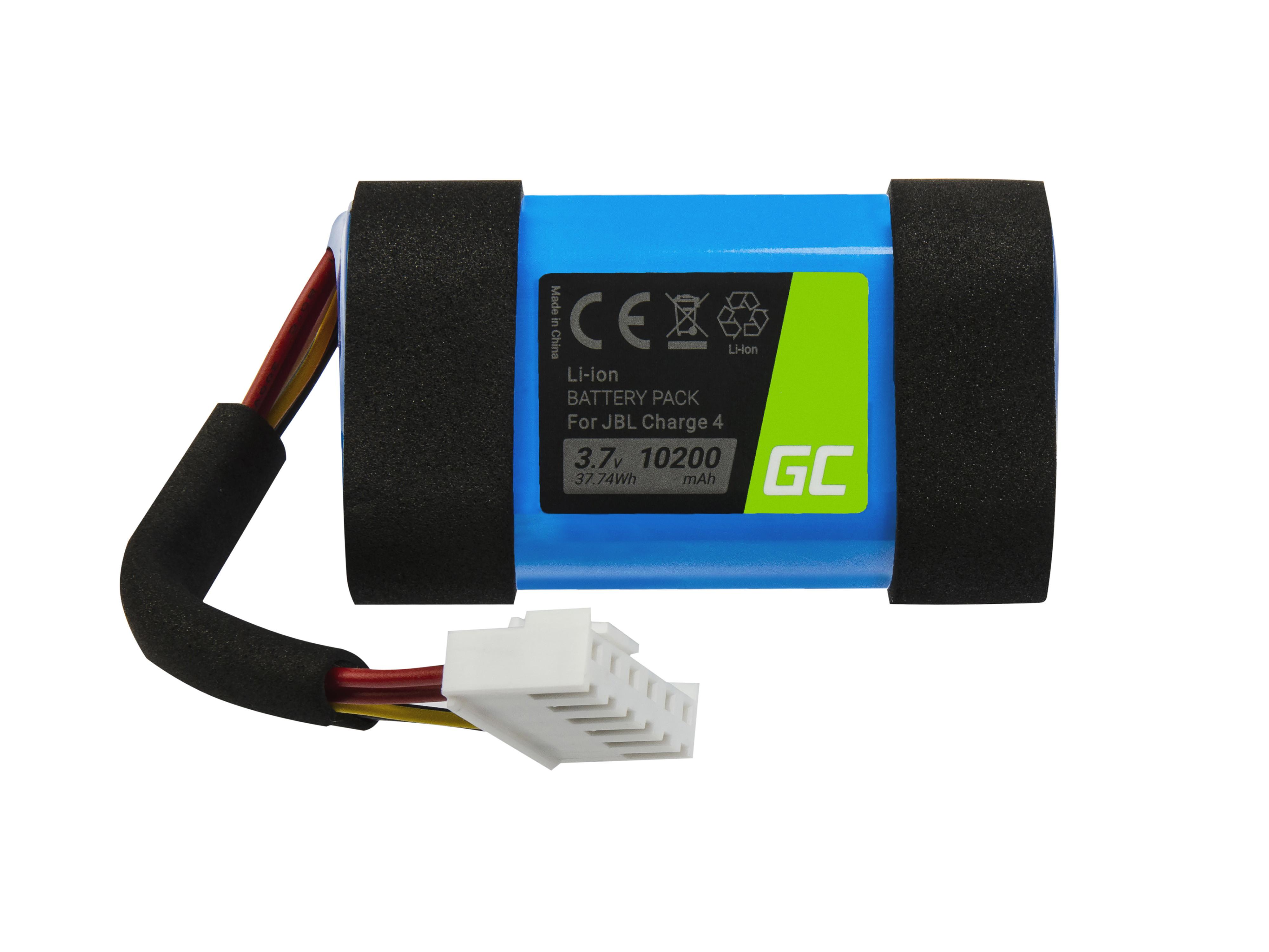 Baterie Green Cell pro JBL Charge 4 10200mAh Li-Ion – neoriginální