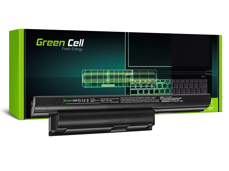 Green Cell Battery for Sony Vaio PCG-71211M PCG-61211M PCG-71212M / 11,1V 4400mAh