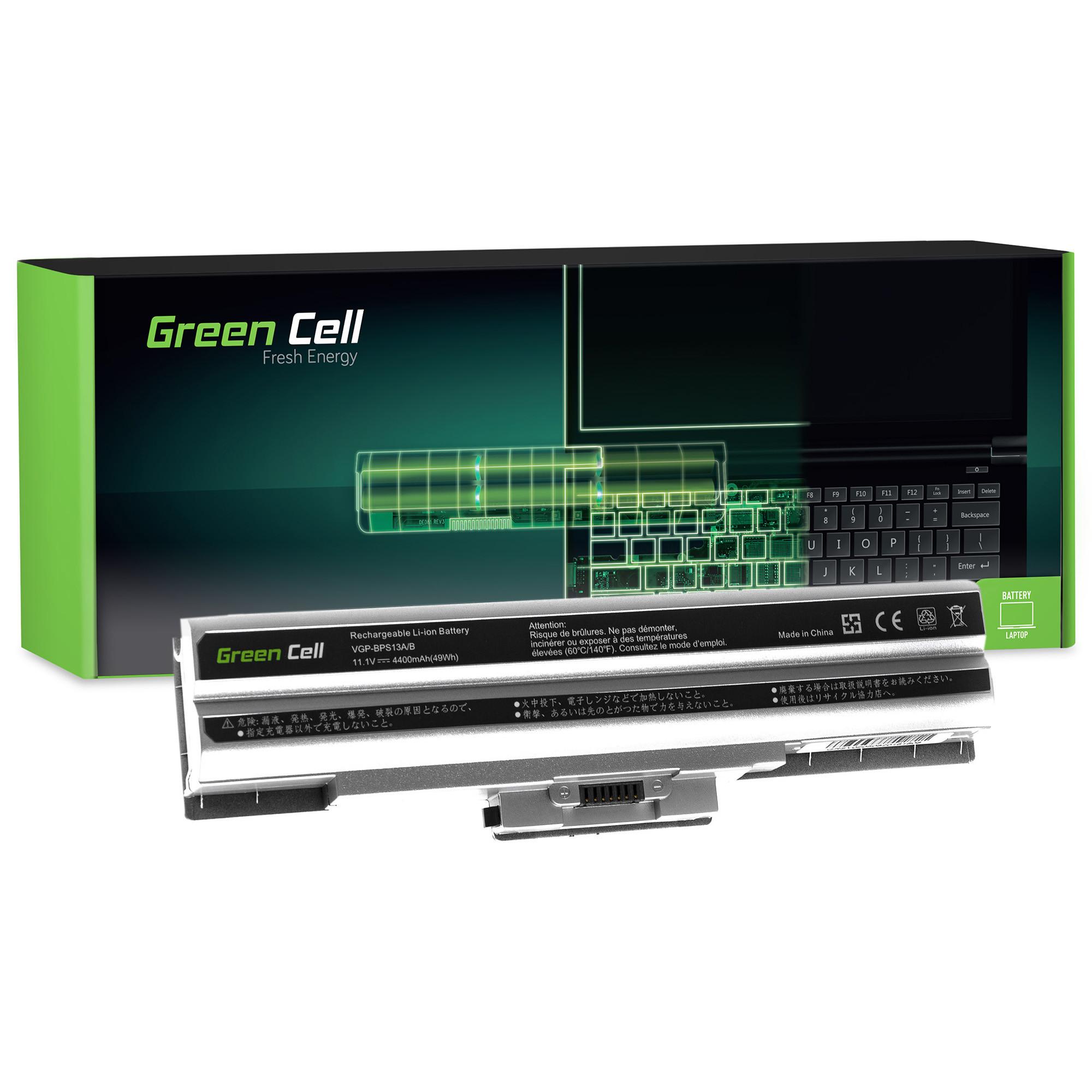 Green Cell SY05 Baterie Sony VGP-BPS13 VGP-BPL13 Sony Vaio VGP-BPS13A/S 4400mAh Li-Ion - neoriginální