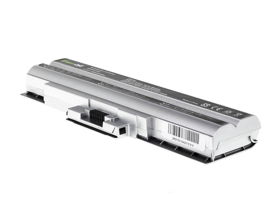 Green Cell Battery for Sony Vaio VGP-BPS13 VGP-BPS21 (silver) / 11,1V 4400mAh