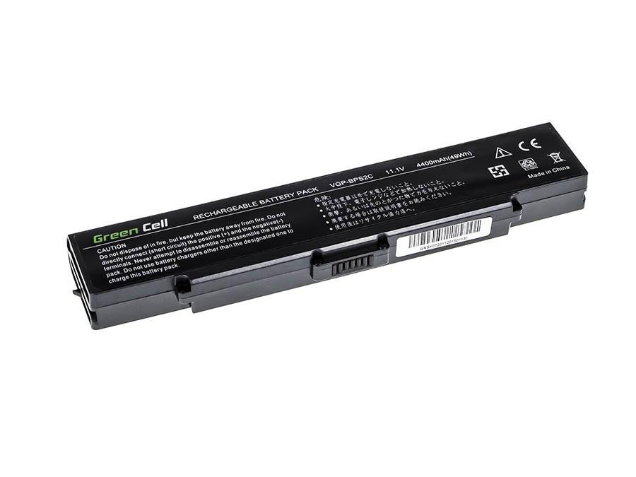 Green Cell Battery for Sony Vaio PCG-7D1M VGN-FE650G VGN-FE890N / 11,1V 4400mAh