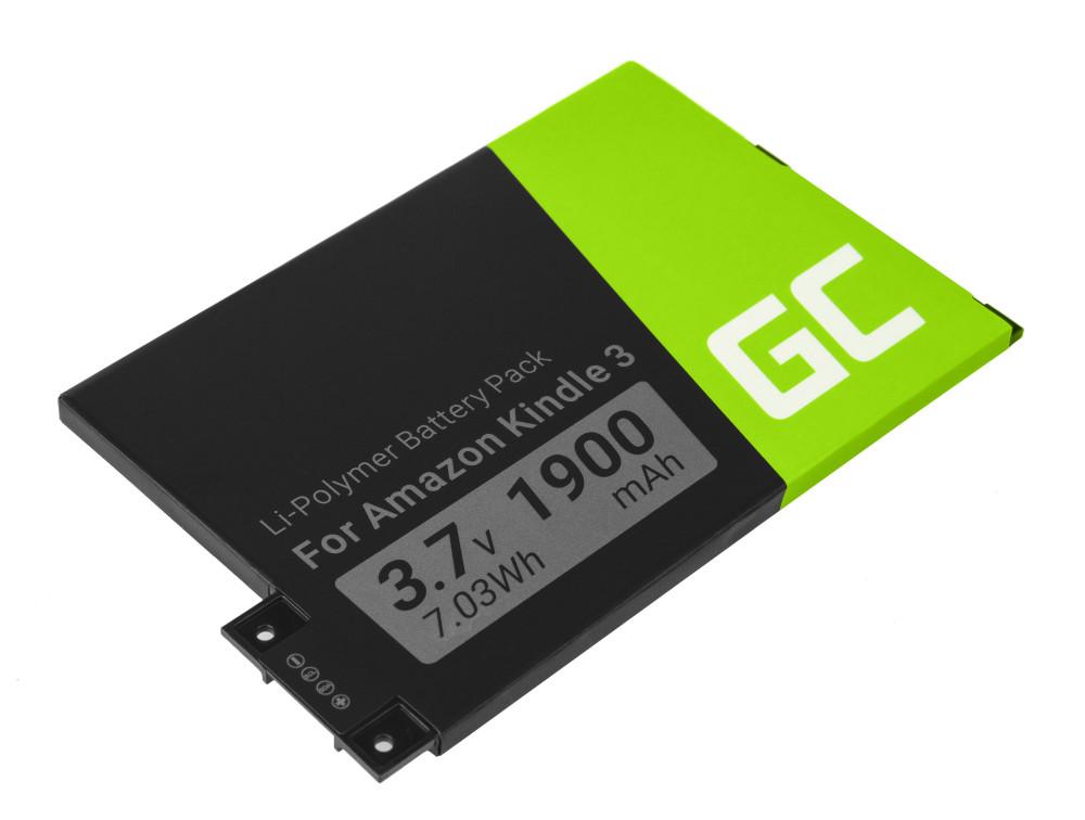 Green Cell 170-1032-01 akkumulátor Amazon Kindle 3 Keyboard 2010 D00901