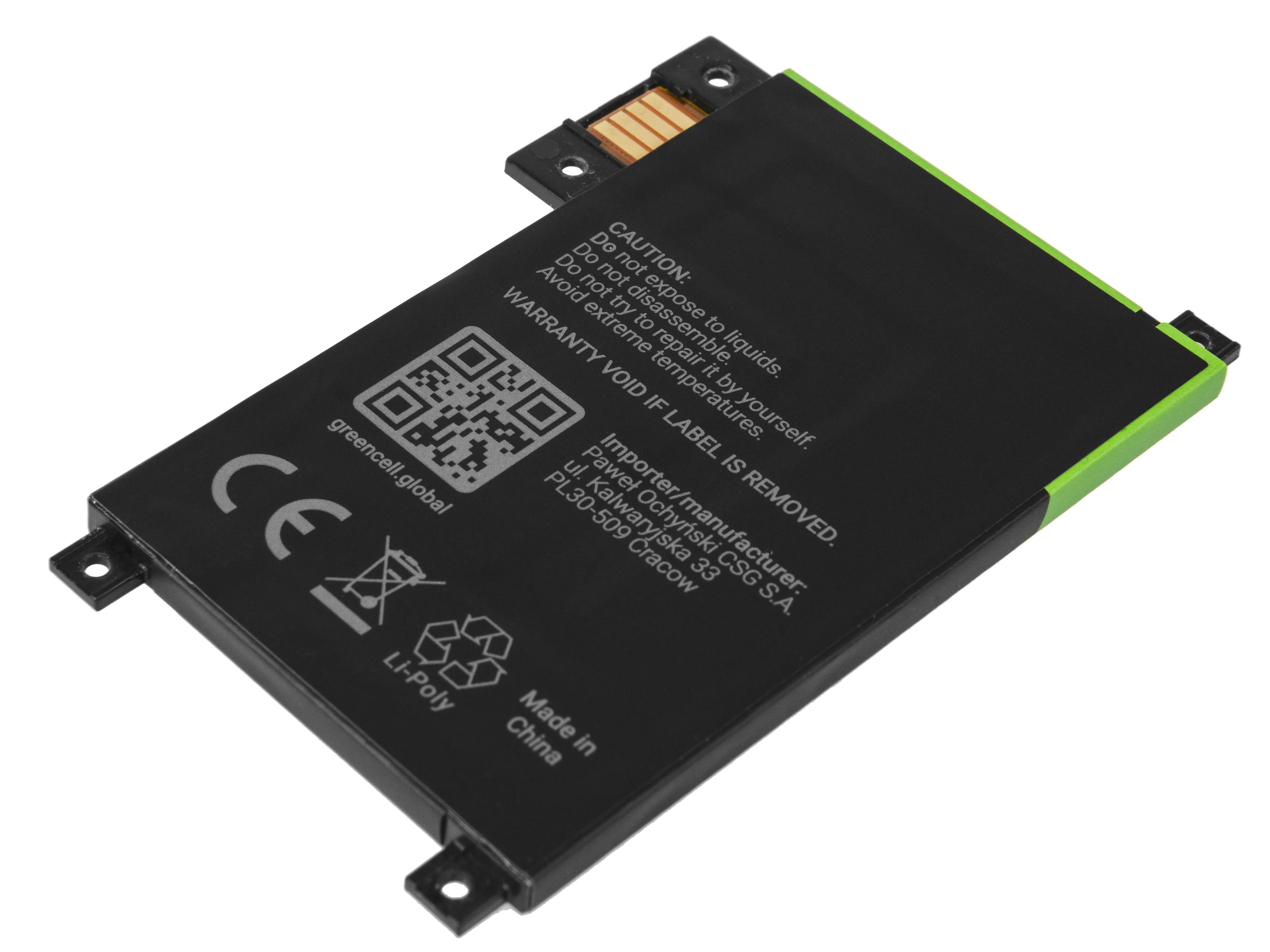 Baterie Green Cell 170-1056-00 pro e-book Amazon Kindle Touch 2011 1400mAh Li-ion - neoriginální