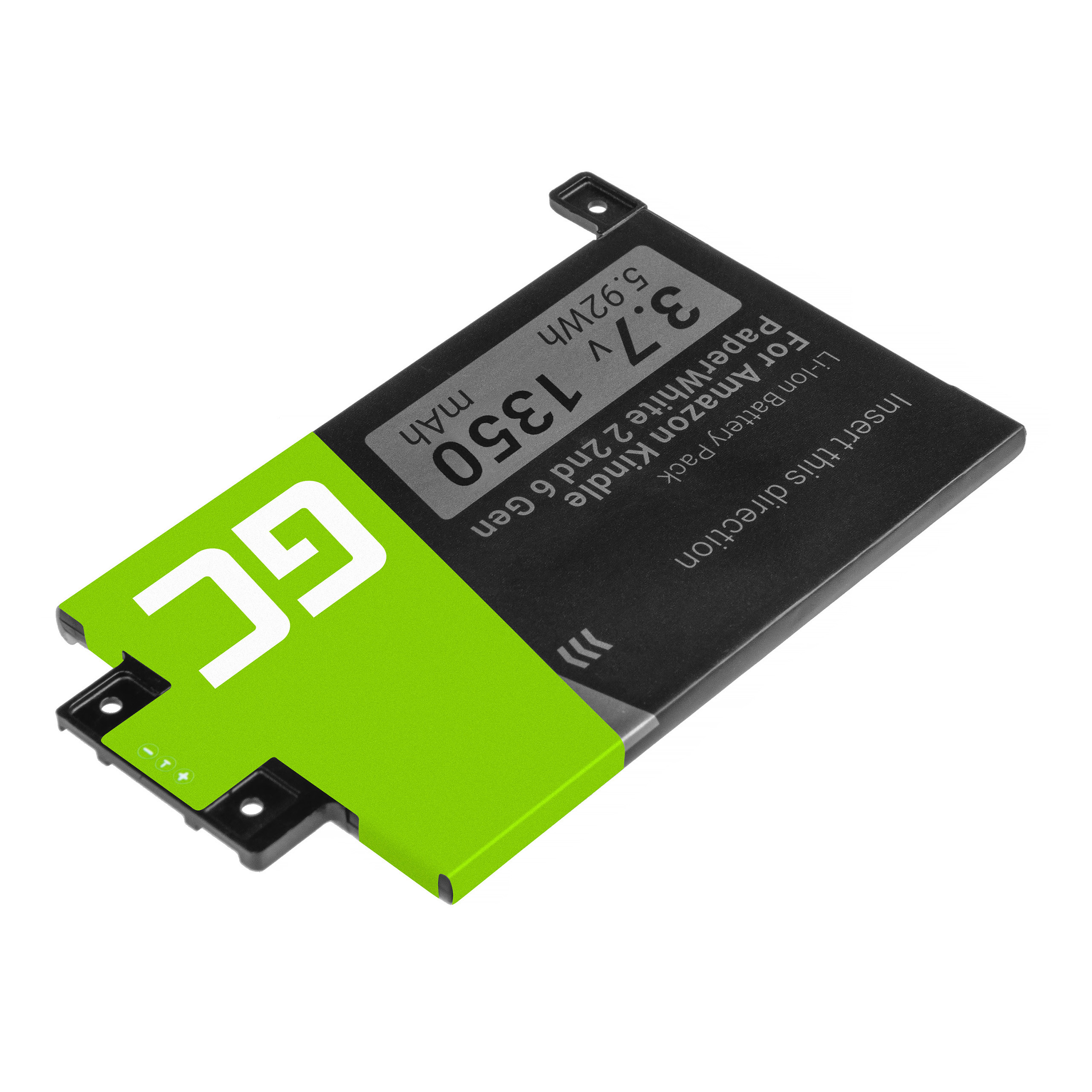 Green Cell 58-000049 Battery for Amazon Kindle Paperwhite II 2013 oraz Amazon Kindle Paperwhite III 2015
