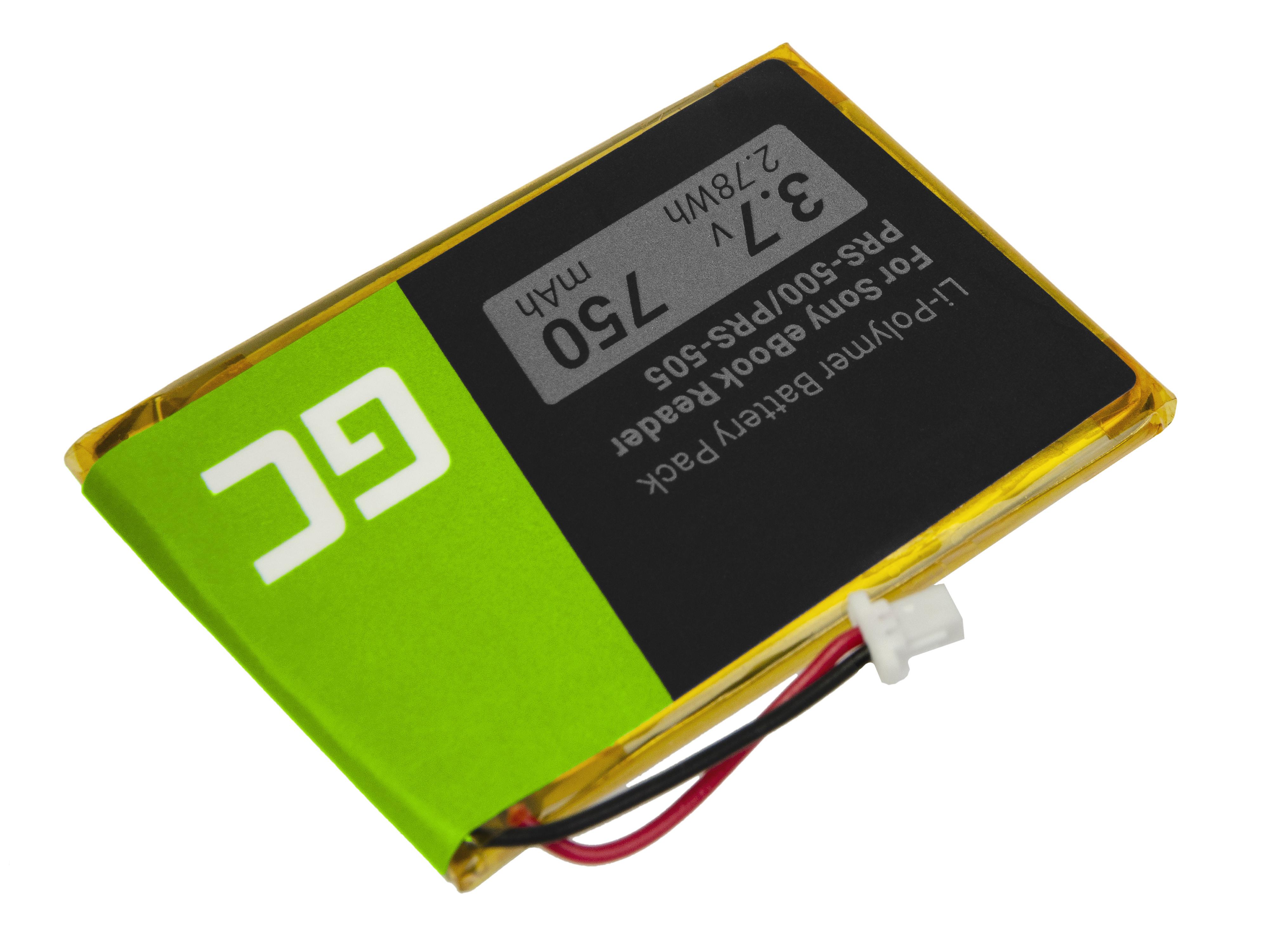 Baterie Green Cell 1-756-769-11 pro e-book Sony Portable Reader System PRS-500 + PRS-505 750mAh Li-ion - neoriginální
