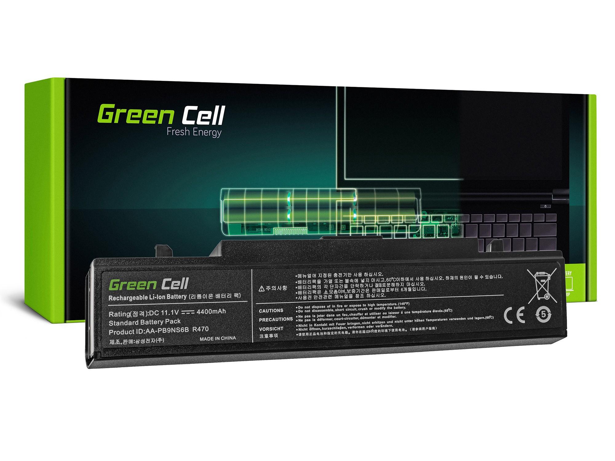 Green Cell SA01 Baterie Samsung AA-PB9NC6B AA-PB9NS6B Samsung RV511 R519 R522 R530 R540 4400mAh Li-Ion - neoriginální